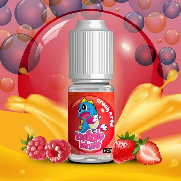 AROMA FRESH N RED 10 ML - BUBBLE ISLAND