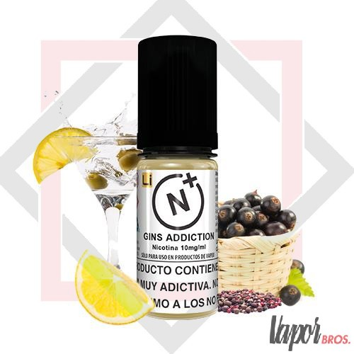 NICOTINE PLUS SALT TPD 10 ML- GINS ADDICTION HALCYON HAZE