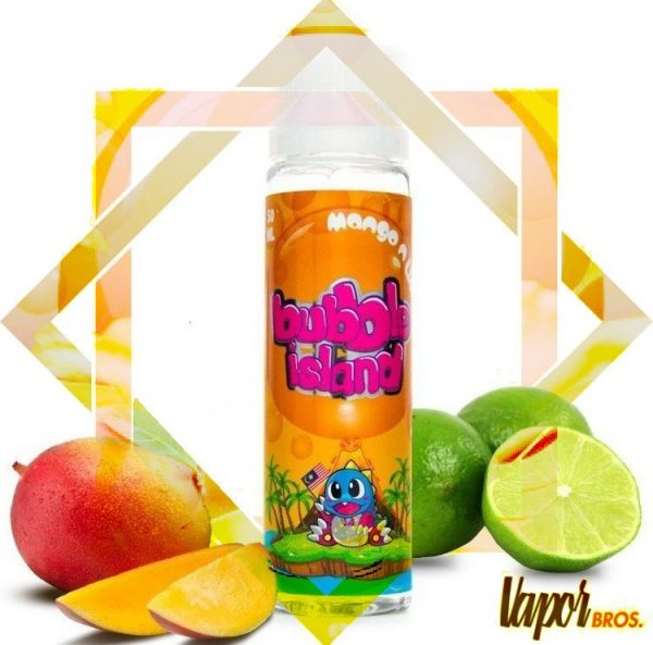 mango lime 50 ml bubble island by halo