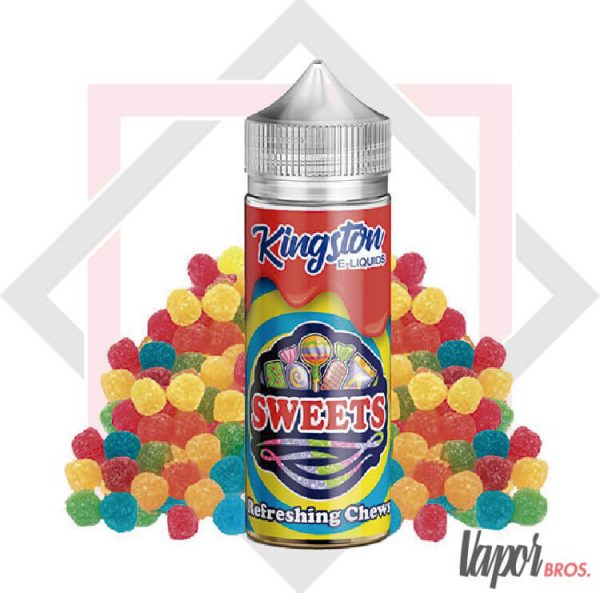 refreshing chews sweets kingston e-liquids 100 ml