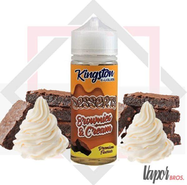 brownies cream dessert kingston e-liquid 100ml