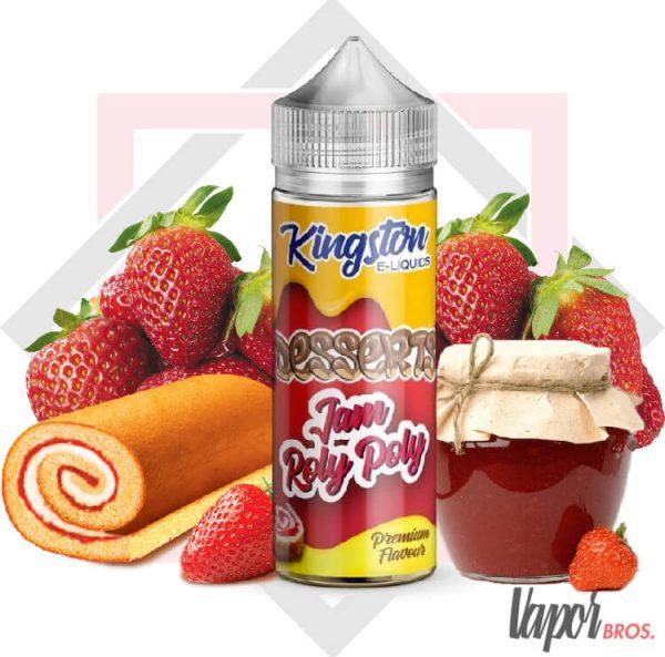 jam roly poly dessert kingston eliquids 100 ml