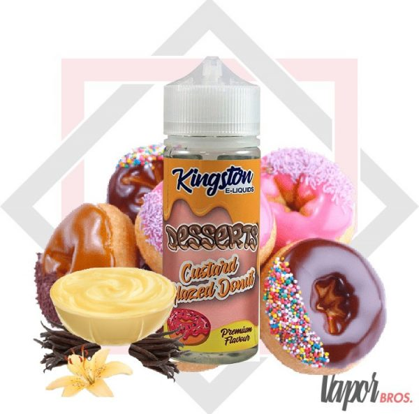 custard glazed donut kingstone e liquids 100 ml