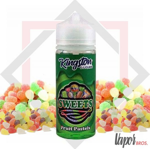 fruit pastels kingston e-liquids 100 ml