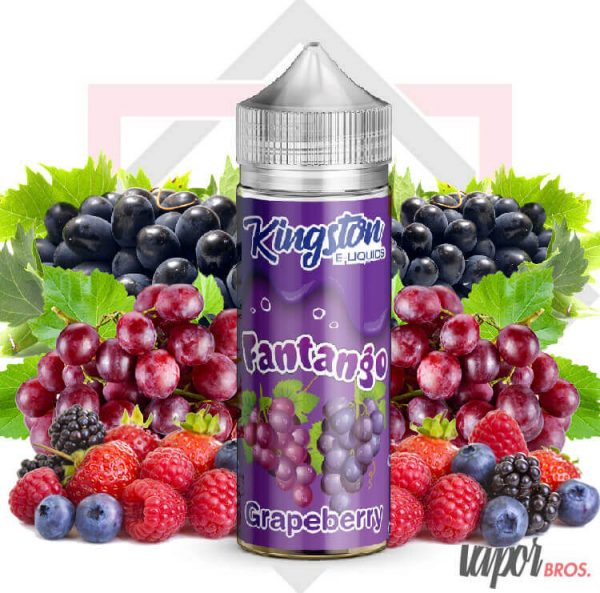 grapeberry kingston eliquids 100 ml fantango