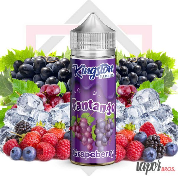 GRAPEBERRY ICE KINGSTON E LIQUIDS 100 ML FANTANGO