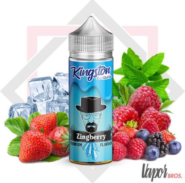 zingberry kingston e liquids 100 ml