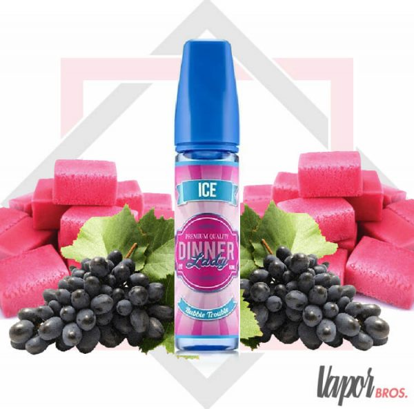 bubble trouble dinner lady ice 50 ml
