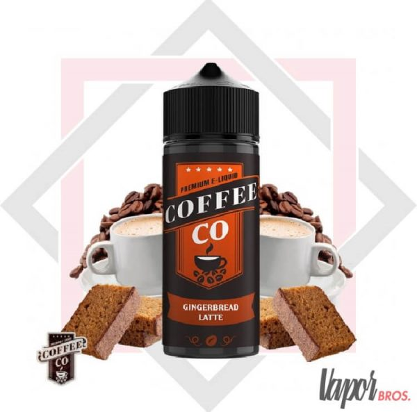 gingerbread latte coffee co e-liquids 100 ml